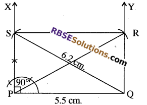 RBSE Solutions for Class 8 Maths Chapter 7 Construction of Quadrilaterals Ex 7.6 img-10