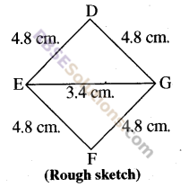 RBSE Solutions for Class 8 Maths Chapter 7 Construction of Quadrilaterals Ex 7.6 img-13
