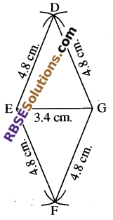 RBSE Solutions for Class 8 Maths Chapter 7 Construction of Quadrilaterals Ex 7.6 img-14