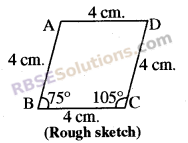 RBSE Solutions for Class 8 Maths Chapter 7 Construction of Quadrilaterals Ex 7.6 img-15
