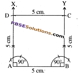 RBSE Solutions for Class 8 Maths Chapter 7 Construction of Quadrilaterals Ex 7.6 img-2