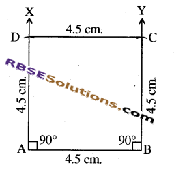 RBSE Solutions for Class 8 Maths Chapter 7 Construction of Quadrilaterals Ex 7.6 img-4