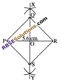 RBSE Solutions for Class 8 Maths Chapter 7 Construction of Quadrilaterals Ex 7.6 img-6