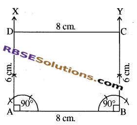 RBSE Solutions for Class 8 Maths Chapter 7 Construction of Quadrilaterals Ex 7.6 img-8