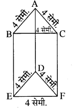 RBSE Solutions for Class 8 Maths Chapter 8 ठोस आकारों का चित्रण Ex 8.1 Q3