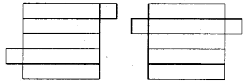 RBSE Solutions for Class 8 Maths Chapter 8 ठोस आकारों का चित्रण Ex 8.2 Q1a