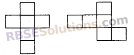 RBSE Solutions for Class 8 Maths Chapter 8 Visualization of Solids Ex 8.2 img-1