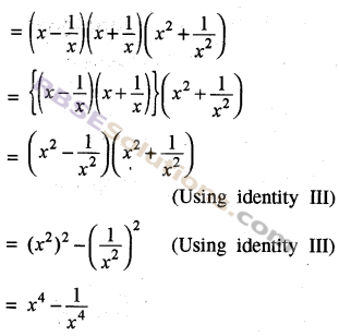 RBSE Solutions for Class 8 Maths Chapter 9 Algebraic Expressions Additional Questions img-6
