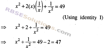 RBSE Solutions for Class 8 Maths Chapter 9 Algebraic Expressions Additional Questions img-7