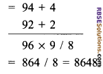 RBSE Solutions for Class 9 Maths Chapter 1 Vedic Mathematics Ex 1.2 10