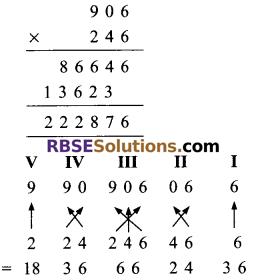 RBSE Solutions for Class 9 Maths Chapter 1 Vedic Mathematics Ex 1.3 5