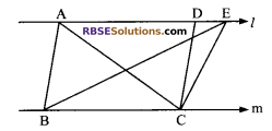 RBSE Solutions for Class 9 Maths Chapter 10 Area of Triangles and Quadrilaterals Additional Questions - 12