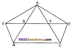 RBSE Solutions for Class 9 Maths Chapter 10 Area of Triangles and Quadrilaterals Additional Questions - 18