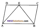 RBSE Solutions for Class 9 Maths Chapter 10 Area of Triangles and Quadrilaterals Additional Questions - 2