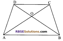 RBSE Solutions for Class 9 Maths Chapter 10 Area of Triangles and Quadrilaterals Additional Questions - 20