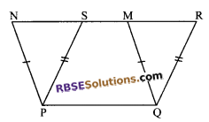 RBSE Solutions for Class 9 Maths Chapter 10 Area of Triangles and Quadrilaterals Additional Questions - 21