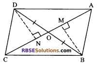 RBSE Solutions for Class 9 Maths Chapter 10 Area of Triangles and Quadrilaterals Additional Questions - 25