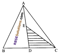 RBSE Solutions for Class 9 Maths Chapter 10 Area of Triangles and Quadrilaterals Additional Questions - 3