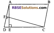 RBSE Solutions for Class 9 Maths Chapter 10 Area of Triangles and Quadrilaterals Additional Questions - 4