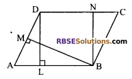 RBSE Solutions for Class 9 Maths Chapter 10 Area of Triangles and Quadrilaterals Miscellaneous Exercise - 3