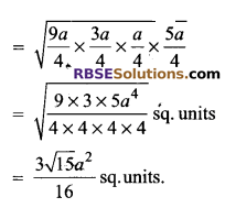 RBSE Solutions for Class 9 Maths Chapter 11 Area of Plane Figures Additional Questions - 12