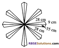 RBSE Solutions for Class 9 Maths Chapter 11 Area of Plane Figures Additional Questions - 17