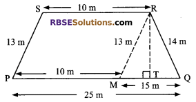 RBSE Solutions for Class 9 Maths Chapter 11 Area of Plane Figures Additional Questions - 19