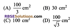 RBSE Solutions for Class 9 Maths Chapter 11 Area of Plane Figures Additional Questions - 2