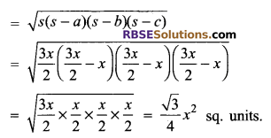 RBSE Solutions for Class 9 Maths Chapter 11 Area of Plane Figures Additional Questions - 6