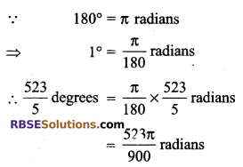 RBSE Solutions for Class 9 Maths Chapter 13 Angles and their Measurement Additional Questions - 11