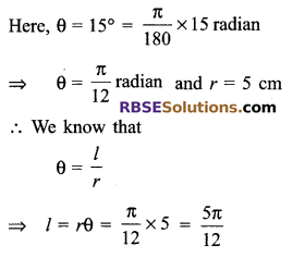 RBSE Solutions for Class 9 Maths Chapter 13 Angles and their Measurement Additional Questions - 6
