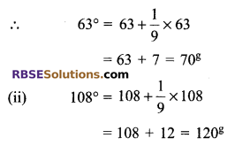 RBSE Solutions for Class 9 Maths Chapter 13 Angles and their Measurement Additional Questions - 7
