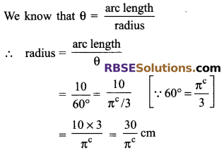 RBSE Solutions for Class 9 Maths Chapter 13 Angles and their Measurement Miscellaneous Exercise - 4