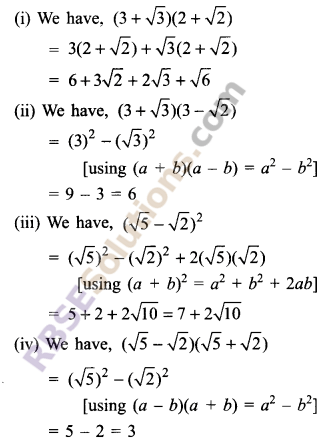 RBSE Solutions for Class 9 Maths Chapter 2 Number System Additional Questions 15
