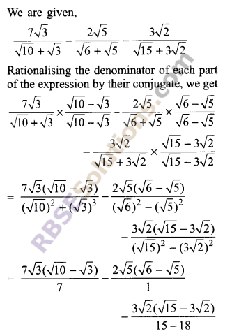 RBSE Solutions for Class 9 Maths Chapter 2 Number System Additional Questions 41