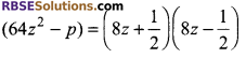 RBSE Solutions for Class 9 Maths Chapter 3 Polynomial Additional Questions 1