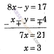 RBSE Solutions for Class 9 Maths Chapter 4 दो चरों वाले रैखिक समीकरण Miscellaneous Exercise 13