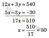 RBSE Solutions for Class 9 Maths Chapter 4 दो चरों वाले रैखिक समीकरण Miscellaneous Exercise 16