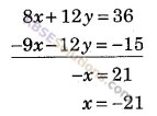 RBSE Solutions for Class 9 Maths Chapter 4 दो चरों वाले रैखिक समीकरण Miscellaneous Exercise 9