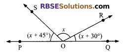 RBSE Solutions for Class 9 Maths Chapter 5 Plane Geometry and Line and Angle Additional Questions 12