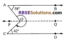 RBSE Solutions for Class 9 Maths Chapter 5 Plane Geometry and Line and Angle Additional Questions 20