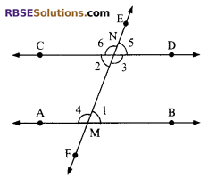 RBSE Solutions for Class 9 Maths Chapter 5 Plane Geometry and Line and Angle Additional Questions 22