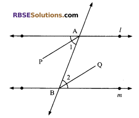 RBSE Solutions for Class 9 Maths Chapter 5 Plane Geometry and Line and Angle Ex 5.2 6