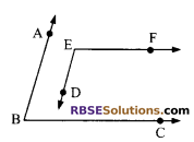 RBSE Solutions for Class 9 Maths Chapter 5 Plane Geometry and Line and Angle Ex 5.2 7