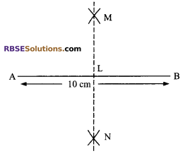 RBSE Solutions for Class 9 Maths Chapter 5 Plane Geometry and Line and Angle Ex 5.3 1