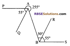 RBSE Solutions for Class 9 Maths Chapter 5 Plane Geometry and Line and Angle Miscellaneous Exercise 12