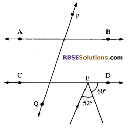 RBSE Solutions for Class 9 Maths Chapter 5 Plane Geometry and Line and Angle Miscellaneous Exercise 15