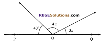 RBSE Solutions for Class 9 Maths Chapter 5 Plane Geometry and Line and Angle Miscellaneous Exercise 2
