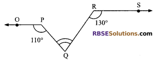 RBSE Solutions for Class 9 Maths Chapter 5 Plane Geometry and Line and Angle Miscellaneous Exercise 3