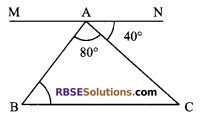 RBSE Solutions for Class 9 Maths Chapter 6 Rectilinear Figures Additional Questions 1